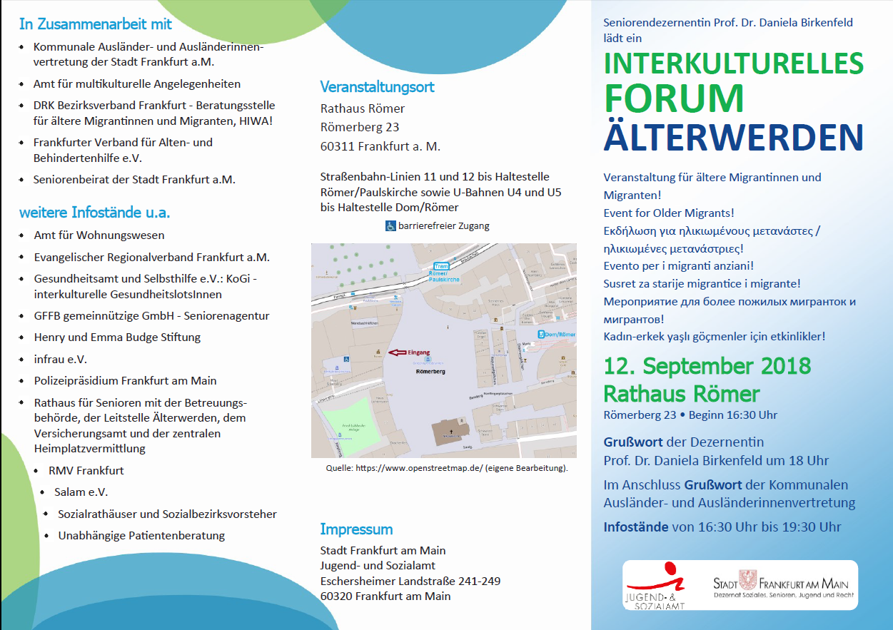 Interkulturelles Forum Flayer 1